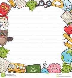 Cute Back to School Cartoon