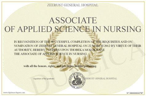 associate  applied science  nursing