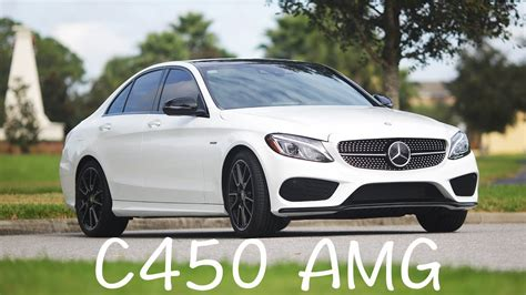 2016 Mercedes Benz C450 Amg 4matic Review W205
