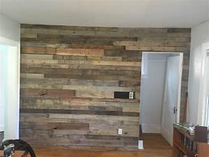 Living, Room, Pallet, Accent, Wall, U2022, Pallet, Ideas