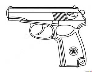 How to Draw Gun Drawings