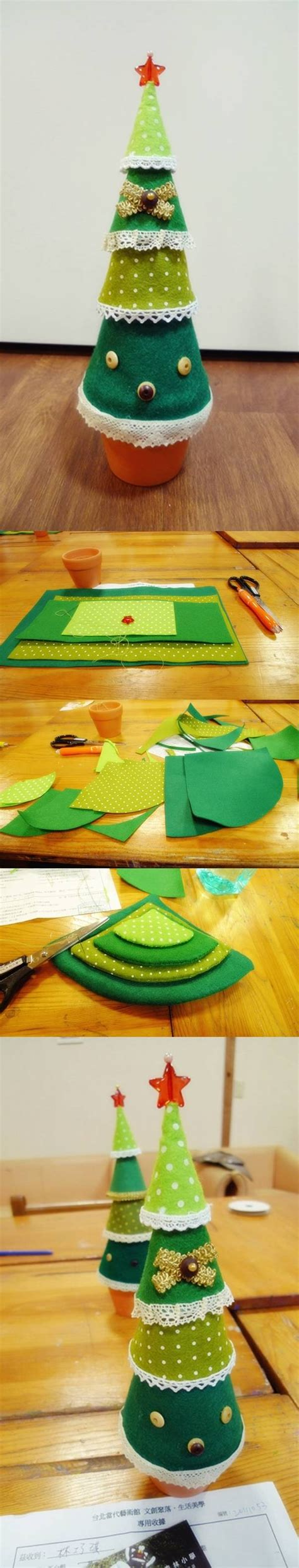 Diy Easy Felt Christmas Tree Pictures, Photos, And Images