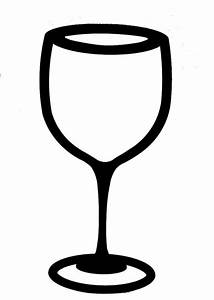 Wine Glass Outline Clip Art (38+)
