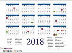 Colección de calendarios y planificadores 2018 Gran