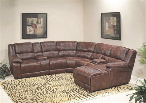leather reclining sectional with chaise leather sectional sofas with recliners and chaise