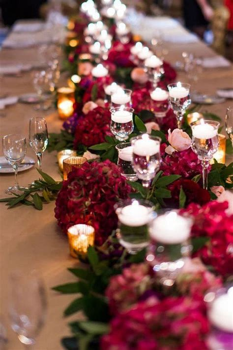 top  burgundy wedding centerpieces  fall  page