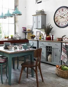 nos idees pour amenager une belle cuisine vintage elle With deco retro cuisine