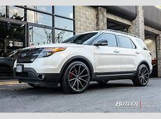 Ford Explorer with 22in Lexani CSS10 Wheels exclusively