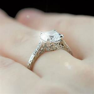 antique engagement rings vintage antique style engagement With vintage looking wedding rings
