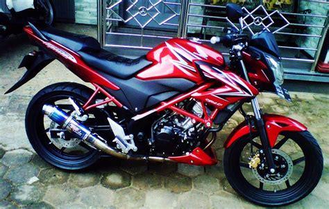 Modifikasi Honda Cb150 by 50 Gambar Modifikasi Cb150r Gagah Dan Keren Modif Drag