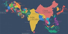 Here's What Europe And Asia Would Look Like If Countries ...