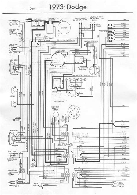Dodge Dart Wiring Bob Garage Library