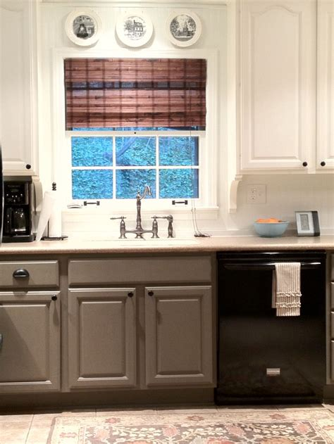 kitchen colors with grey cabinets two tone cabinets the house tour on house185 8230