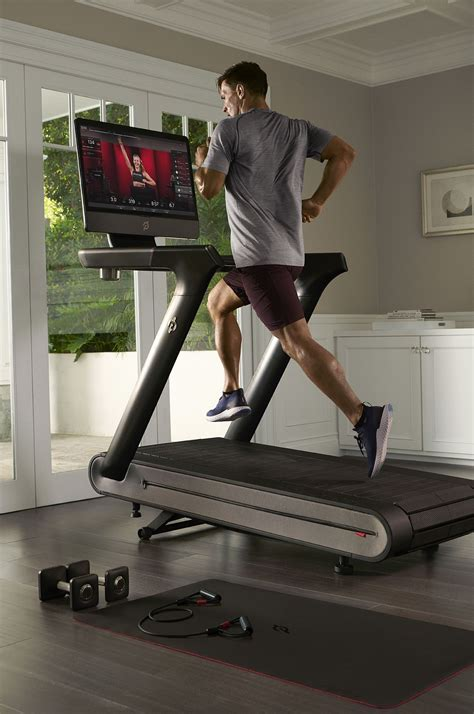 Off the bike or tread, members. Peloton treadmill gives stationary bike a run for its ...