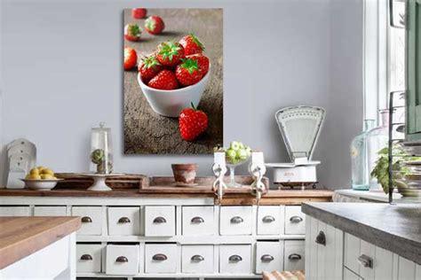 tableau de cuisine décoration murale design avec un tableau sur toile toile
