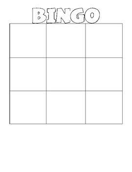 blank bingo wordo grids  erin stripling teachers pay