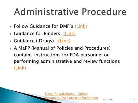 fda jpb cover letter guidance master files gdufa