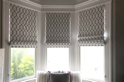 Custom Roman Shades Hunter Douglas San Francisco Tiburon Ca