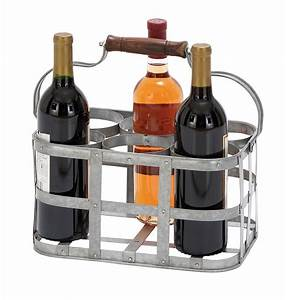 Saapni.com. Vino Metal Wine Holder 16175