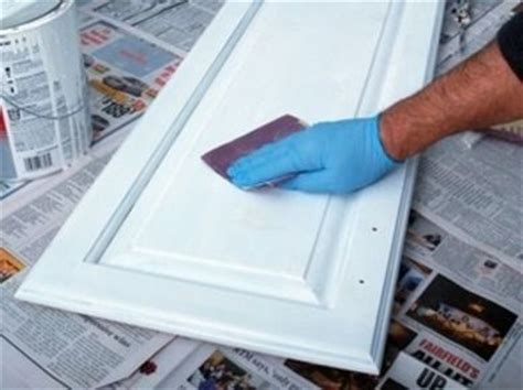 how to paint cabinet doors without brush marks pin by susan caldwell on diy painting techniques pinterest