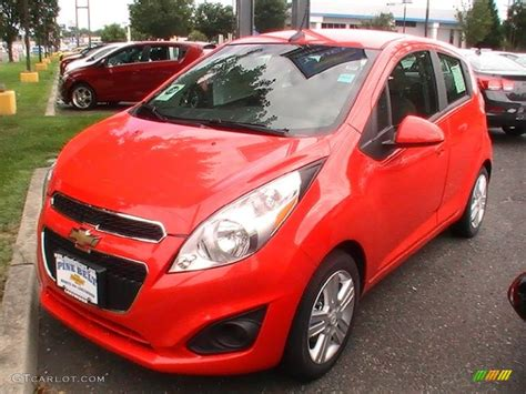 2013 Salsa (red) Chevrolet Spark Ls #68468888 Gtcarlot