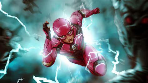 The Flash 4k 8k Hd Dc Wallpaper #2