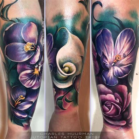 realistic flower tattoos  tattoo ideas gallery