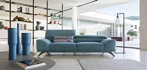 Roche Bobois Paris : roche bobois azur 3 seat sofa designed by philippe ~ Farleysfitness.com Idées de Décoration
