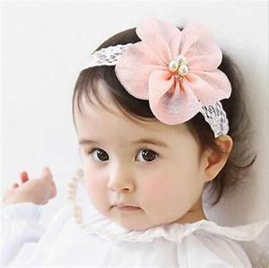 New Fashion Korean Style Cute Baby Pink Headband Hairbands ...