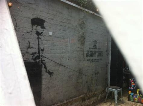 banksy at cargo - Picture of Street Art London Tours ...