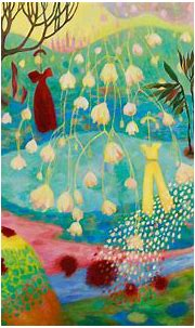 Peinture abstraite sur toile de Christine Garuet