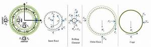 Free Body Diagrams  Fbds  Of The Deep Groove Ball Bearing