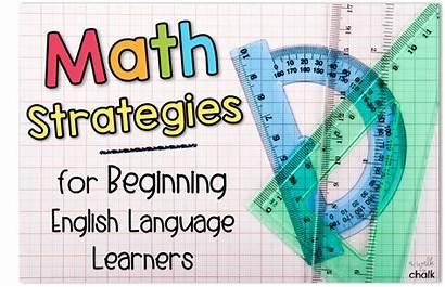 Math Strategies Language English Learners Beginning Ells