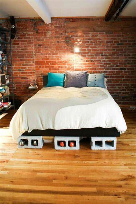 easy  build diy platform beds perfect   home