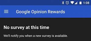 Google Opinion Rewards update adds a hamburger menu and ...