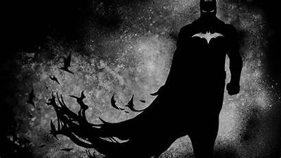 Batman 4k Dark Wallpapers Knight Desktop Paint