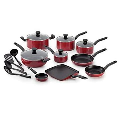 cookware fal initiatives piece sets nonstick grey pc gray lids inside aluminum kitchen fall budget sears cooking cutlery stick non