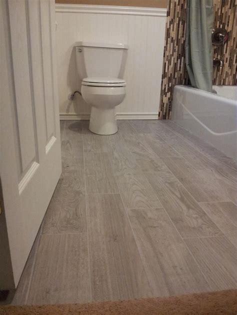ceramic tile bathroom floor ideas planked porcelain wood like tiled floor bathroom floor
