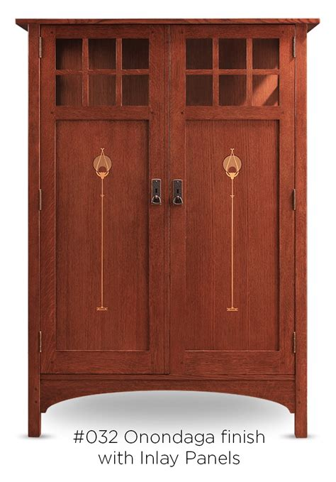 doerr furniture  stickley collector edition cabinets