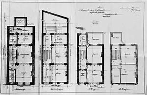 rue saint quentin 30 bruxelles extension est gustave With plan de maison a etage 0 maison de ville econome detail du plan de maison de