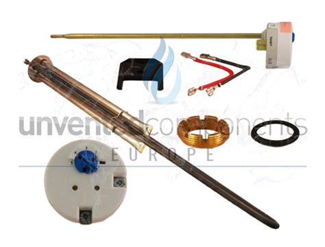 heatstore hsu unvented immersion heater 95606947 with tse tsr thermostat ebay
