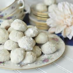 Wedding Cookies Snowballs Russian Tea Cakes