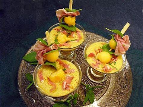 soupe glacee de melon au jambon cru la recette facile