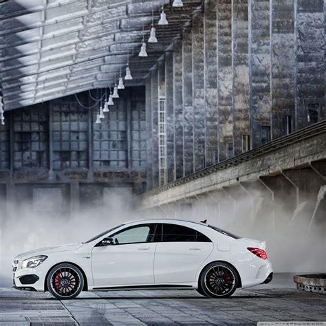 2014 Mercedes Benz Cla45 Amg White 4k Hd Desktop Wallpaper