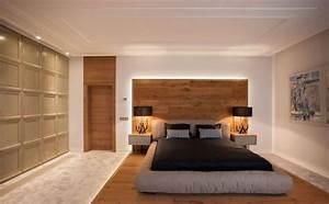 Deco Chambre Bois : quelle d co en bois pour la chambre coucher adulte moderne et naturelle ~ Melissatoandfro.com Idées de Décoration