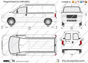 Dimension Peugeot Expert L1h1 : peugeot expert van lwb vector drawing ~ Medecine-chirurgie-esthetiques.com Avis de Voitures