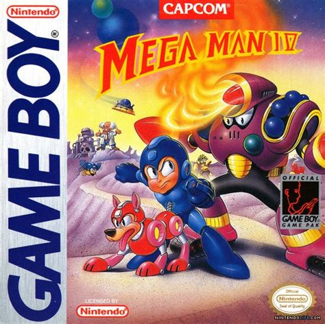 Mega Man Iv Gb Game Boy News Reviews Trailer