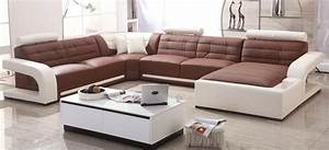 Aliexpresscom buy modern sofa set leather sofa with for Furniture beds designs for drawing room