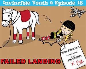 IY2 ep 18-horse riding test fail by cartoon-hyoyeon on ...