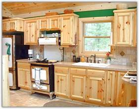 Home Depot Unfinished Cabinets Pantry by Rustic Knotty Pine Kitchen Cabinets Home Design Ideas